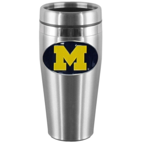 Michigan Steel Travel Mug