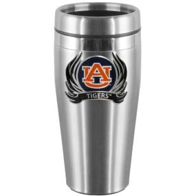 Auburn Flame Steel Travel Mug