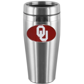Oklahoma Steel Travel Mug