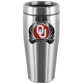 Oklahoma Flame Steel Travel Mug