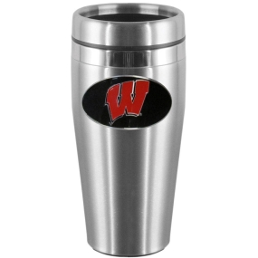Wisconsin Steel Travel Mug