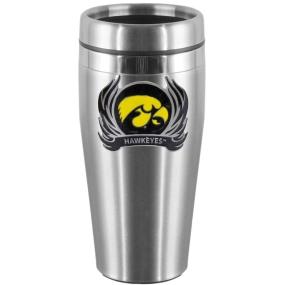 Iowa Flame Steel Travel Mug