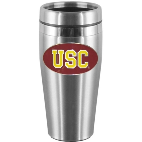 USC Steel Travel Mug