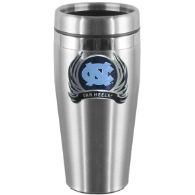 N. Carolina Flame Steel Travel Mug