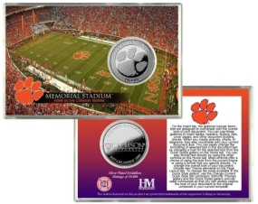 Clemson Tigers Coin Card
