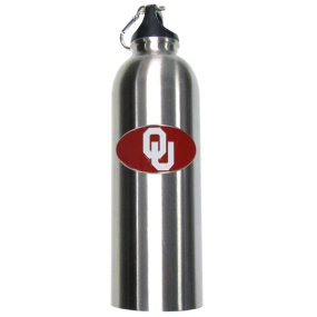 Oklahoma Steel Water Bottle