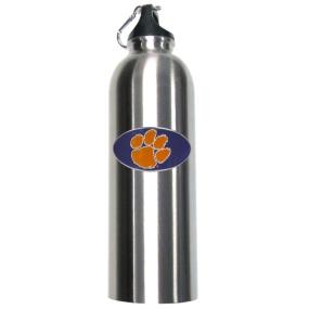 Clemson Steel Water Bottle
