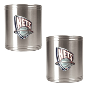 New Orleans Hornets 2pc Stainless Steel Can Holder Set
