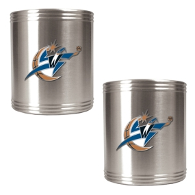 Washington Wizards 2pc Stainless Steel Can Holder Set