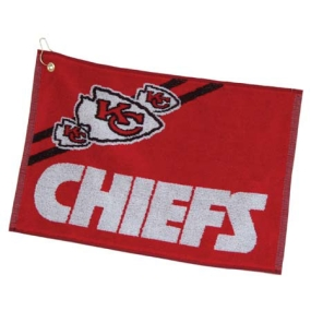 Kansas City Chiefs Jacquard Golf Towel
