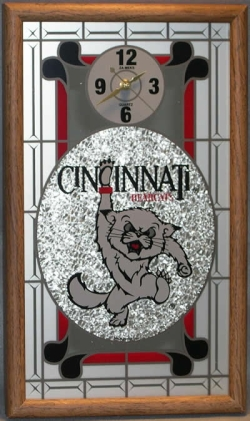 Cincinnati Bearcats Wall Clock