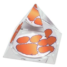 Clemson Tigers Crystal Pyramid