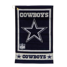 Dallas Cowboys Jacquard Golf Towel