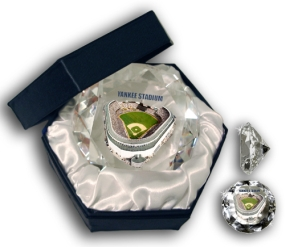 YANKEE STADIUM DIAMOND GLASS