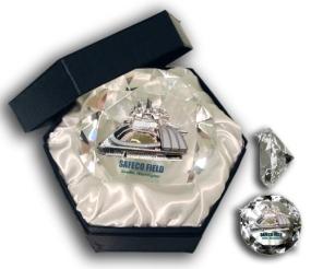 SAFECO FIELD DIAMOND GLASS