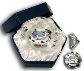 SOLDIER FIELD DIAMOND GLASS