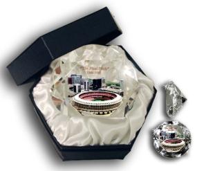 HISTORICAL BUSCH STADIUM DIAMOND GLASS