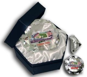 FENWAY PARK DIAMOND GLASS