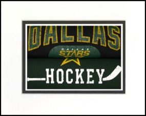 Dallas Stars Vintage T-Shirt Sports Art
