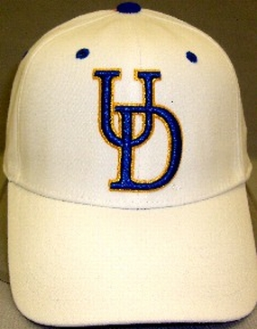 Delaware Fighting Blue Hens White One Fit Hat