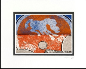 Denver Broncos Vintage T-Shirt Sports Art