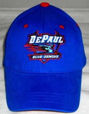 DePaul Blue Demons Youth Team Color One Fit Hat