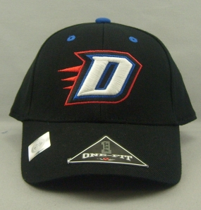 DePaul Blue Demons Black One Fit Hat