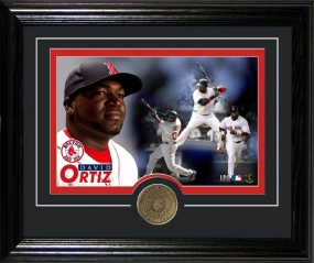 "DAVID ORTIZ ""DEKSTOP"" PHOTO MINT"