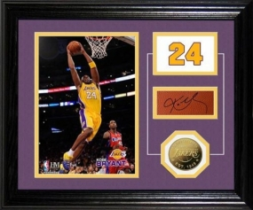 Kobe Bryant Facsimile Signature Mint