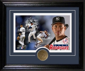 """A-Rod"" ALEX RODRIGUEZ ""DESKTOP PHOTO MINT"