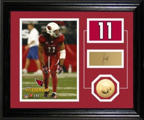Larry Fitzgerald Player Pride Desk Top Photo Mint