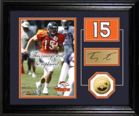 Tim Tebow Player Pride Desk Top Photo Mint