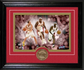 Cleveland Cavaliers Framed Photo and Coin (Desk Top Collection)