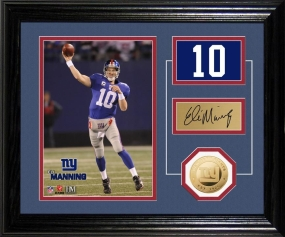 Eli Manning Player Pride Desk Top Photo Mint