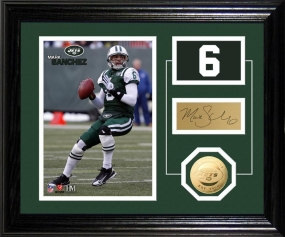 Mark Sanchez Player Pride Desk Top Photo Mint