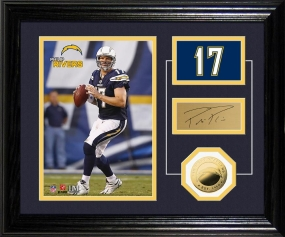 Philip Rivers Player Pride Desk Top Photo Mint