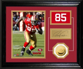 Vernon Davis Player Pride Desk Top Photo Mint