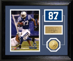 Reggie Wayne Player Pride Desk Top Photo Mint