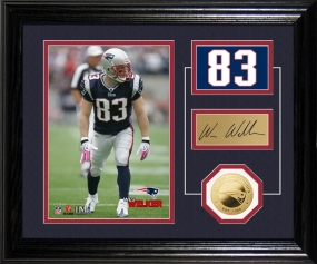Wes Welker Player Pride Desk Top Photo Mint