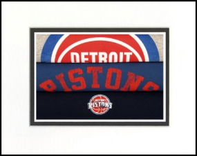 Detroit Pistons Vintage T-Shirt Sports Art