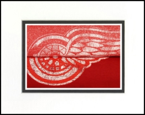 Detroit Red Wings Vintage T-Shirt Sports Art