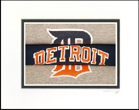 Detroit Tigers Vintage T-Shirt Sports Art