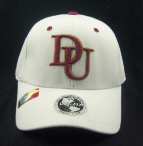 Denver Pioneers White One Fit Hat