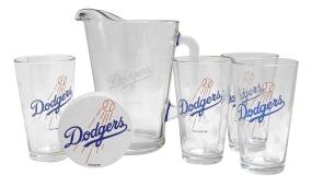 Los Angeles Dodgers Pitcher Set