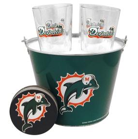 Miami Dolphins Gift Bucket Set