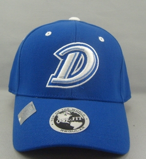 Drake Bulldogs Team Color One Fit Hat