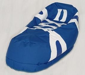 Duke Blue Devils Bean Bag Boot Slipper Chair