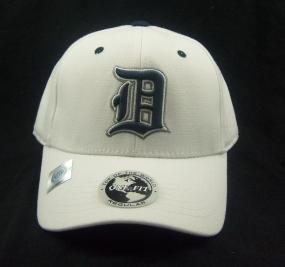 Duke Blue Devils White One Fit Hat