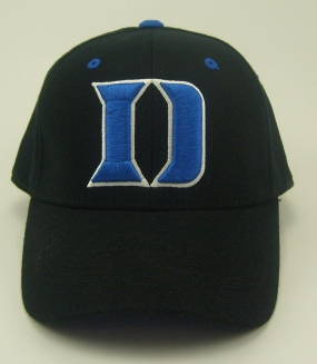 Duke Blue Devils Black One Fit Hat