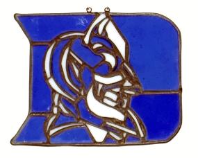 Duke Blue Devils Suncatcher